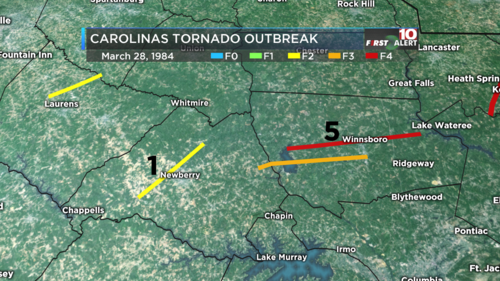 Carolinas Tornado Outbreak 2