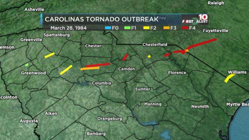 Carolinas Tornado Outbreak